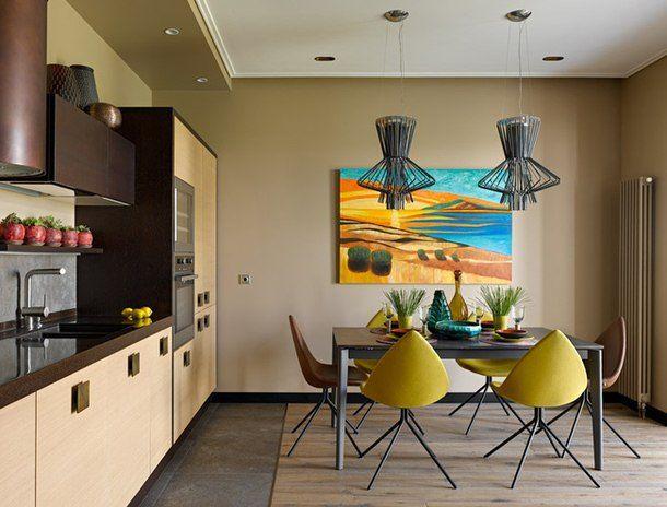 adelaparvu.com despre apartament modern cu motive africane, design Julia Kosova si Marina Korelskaya (6)