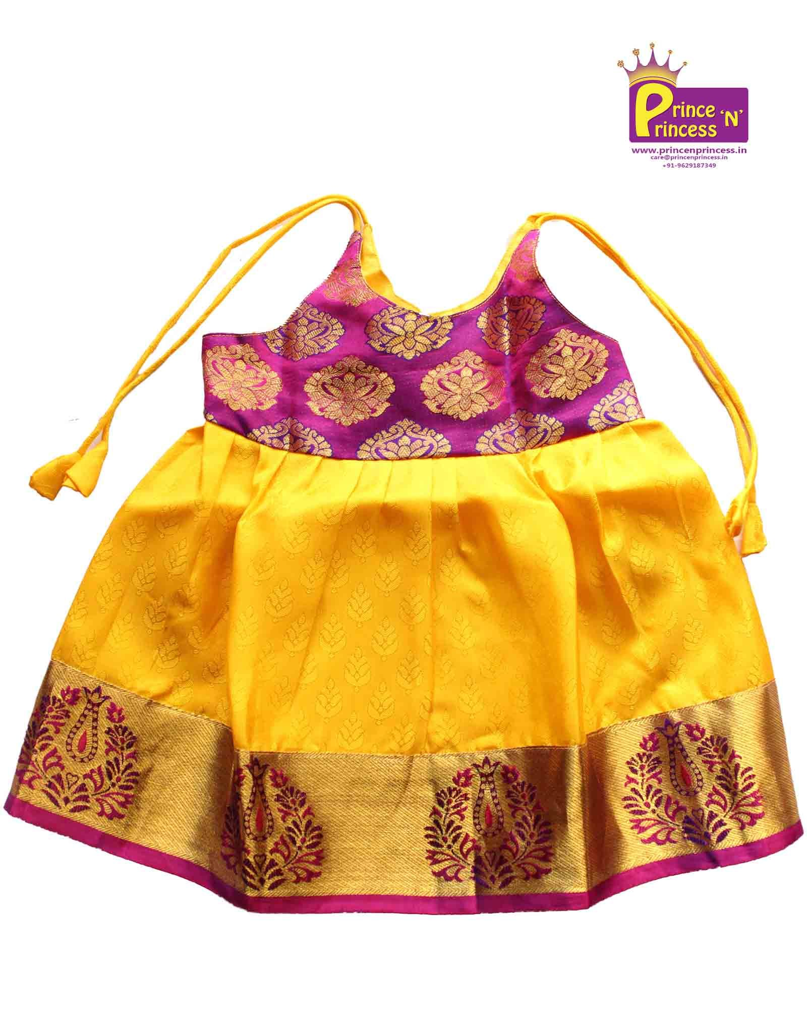 New Born Blue Kids Frock For Naming And Cradle Ceremony Kids Pattu Pavadai Pattu Langa Dresses Kids Girl Kids Blouse Designs Baby Frocks Designs