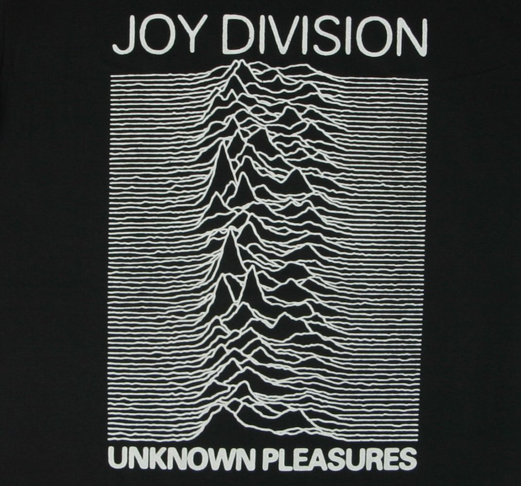 Unknown Pleasures Joy Division T-Shirt  61d05455a