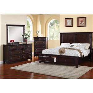 Elements International Harwich Bedroom Group With Images