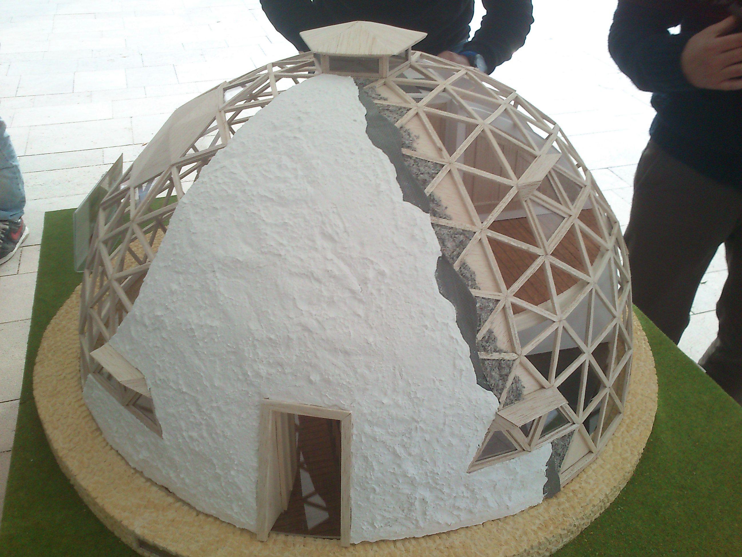 C pula geod sica contiene 360 tri ngulos de 6 medidas - Casas geodesicas ...