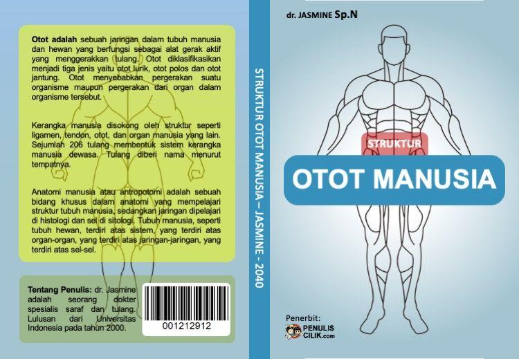 Gambar Cover Buku Otot Manusia Penulis Cilik Otot Lurik Otot Buku
