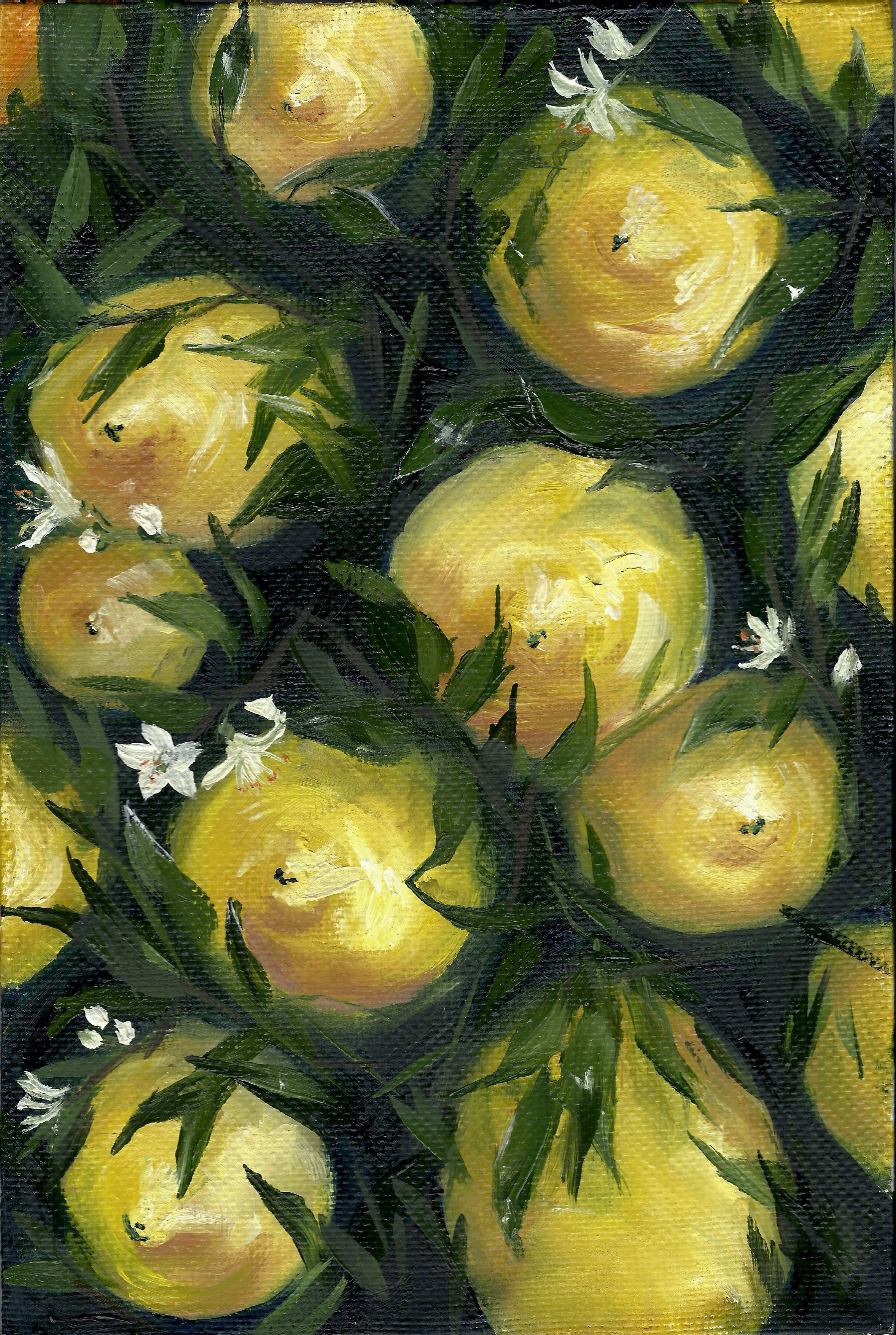 43 Zitrone Ideen Zitrone Stillleben Malerei