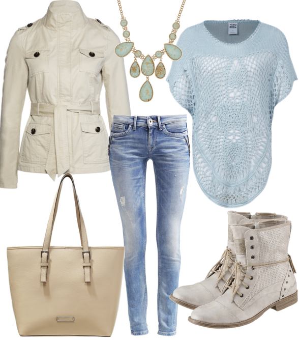 Light Blue #fashion #style #look #dress #mode #outfit