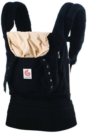 Ergobaby Babytrage Kollektion Original (5,5 - 20 kg), Schwarz/Camel: Amazon.de: Baby