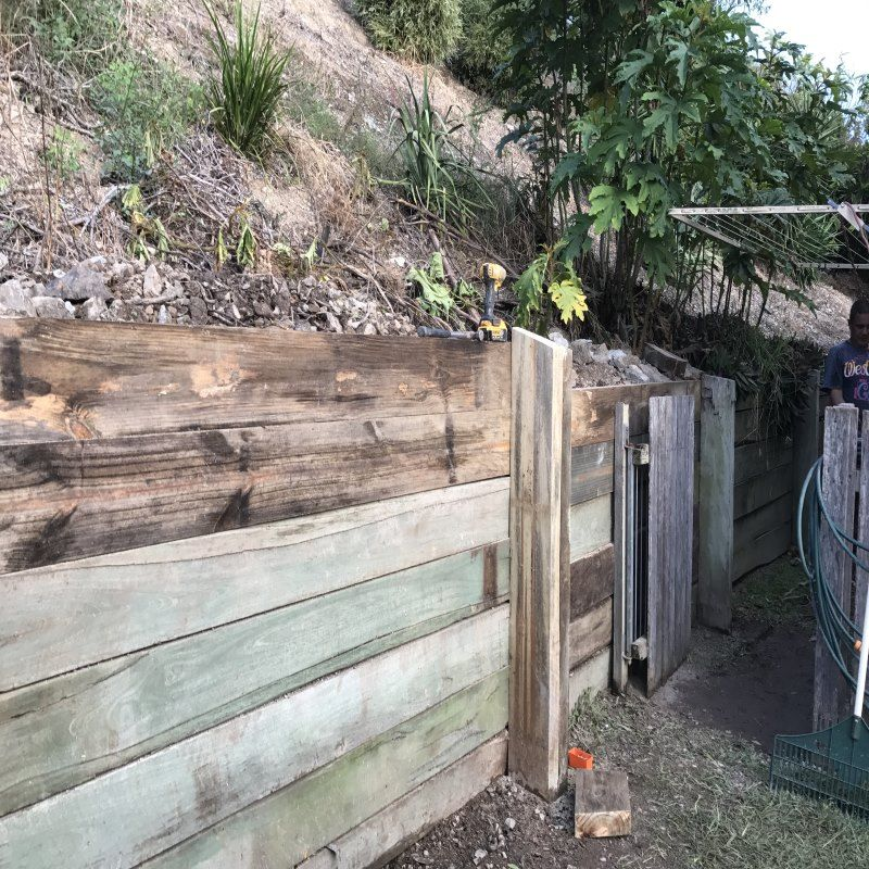 Gold Coast Retaining Wall Specialists Retaining Wall Retaining Wall Repair Sleeper Retaining Wall