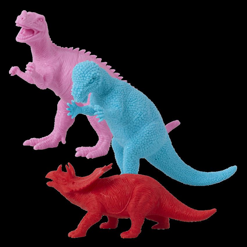 Dino's in drie mooie kleurtjes!