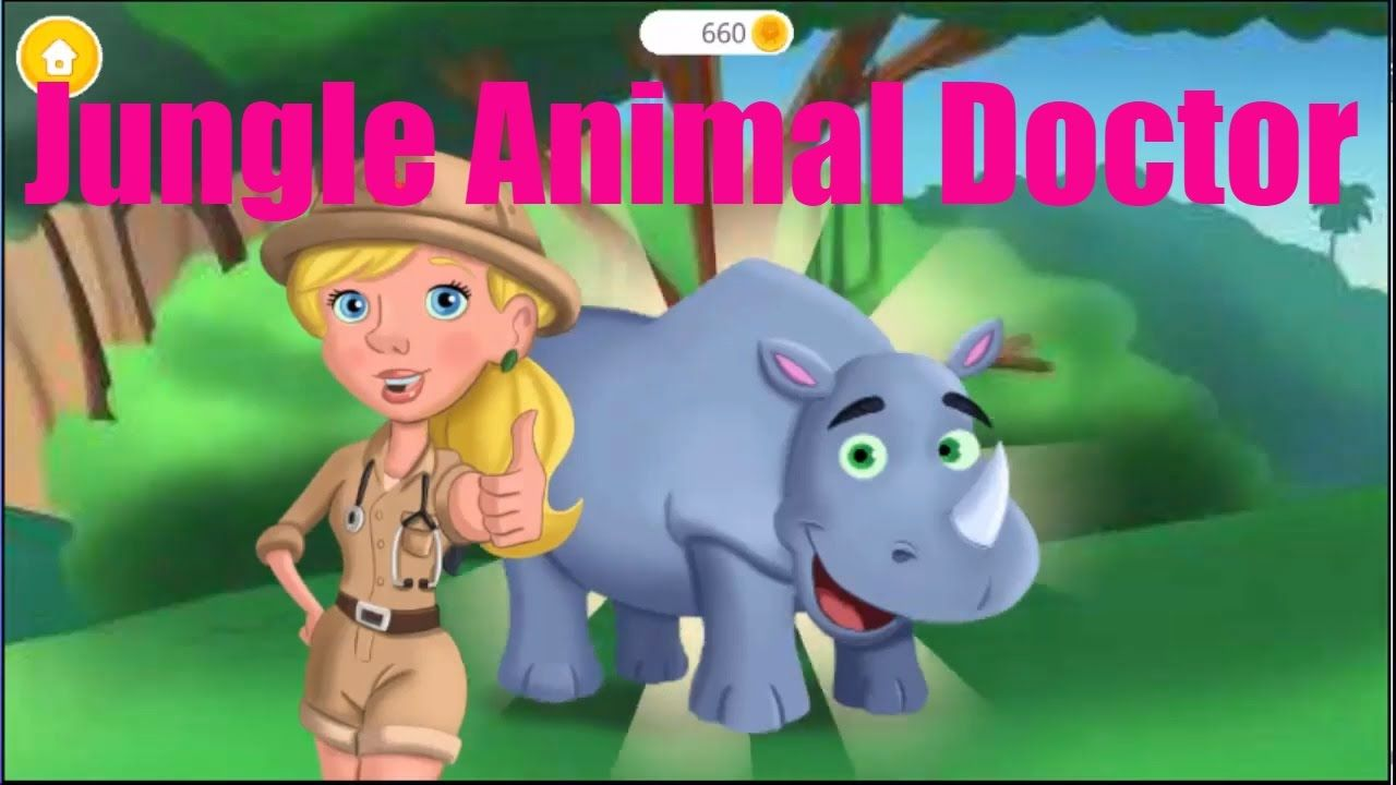 Jungle Animal Doctor Little Kids Learning With Animals
