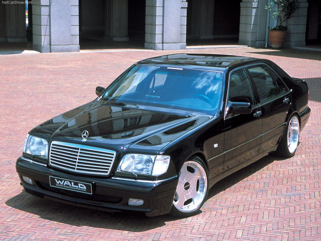 Mercedes Benz S73 Amg W140 Wald Edition With Images Mercedes