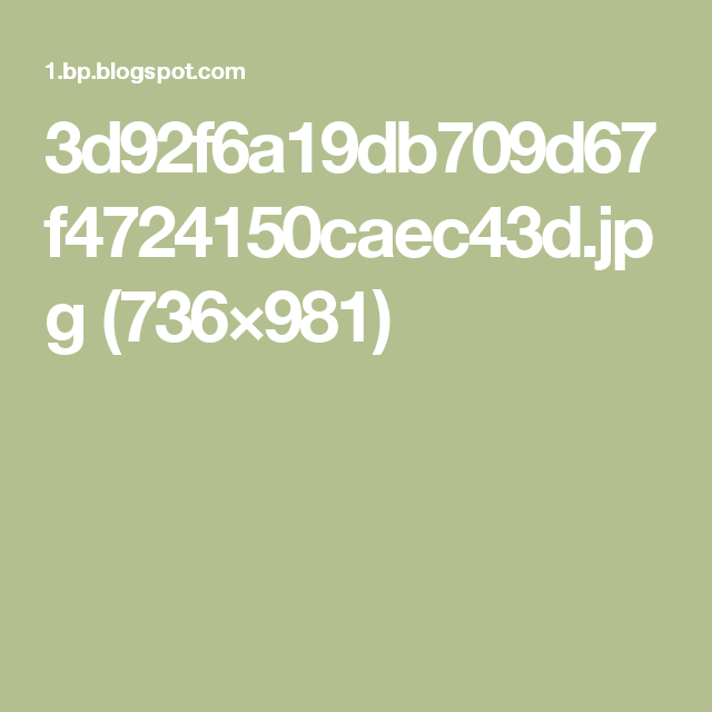 3d92f6a19db709d67f4724150caec43d.jpg (736×981)