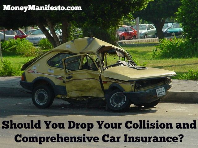 Should I Drop Collision Comprehensive Car Insurance