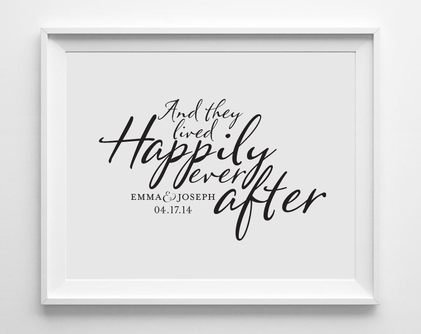 Personalized Wedding Art Prints Gifts Wall Decor For Weddings