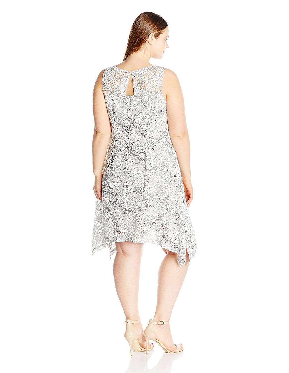 2fded989cdd ROBBIE BEE Women s Plus Size Lace Sleeveless Trapeze -- Find out more about  the great product at the image link. (This is an affiliate link)   ...