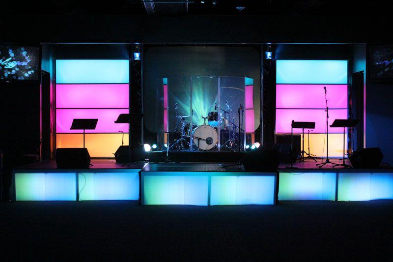 Stage Design Led Light Bo Church