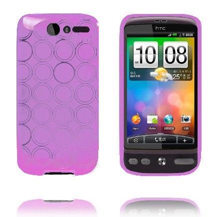 Amazona (Violetti) HTC Desire G7 Silikonisuojus