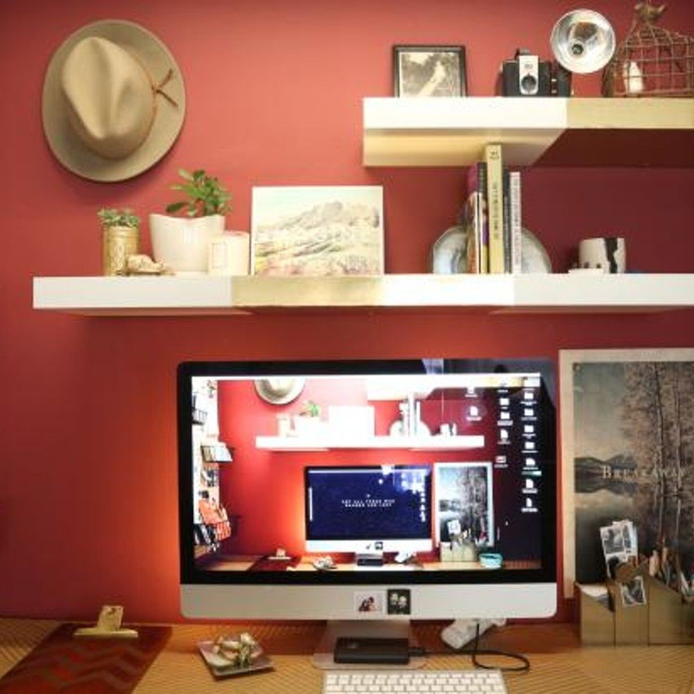 Get Inspired By Your Home Office With These Design Hacks