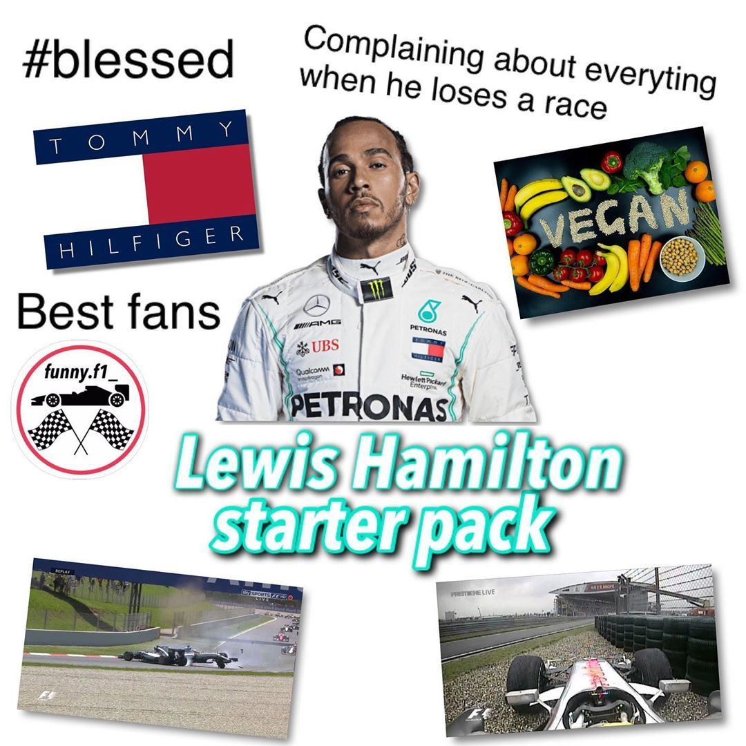 Tag Lewishamilton So He Sees This Follow Funny F1 For More Starter Packs And Jo Hamilton Funny Lewis Hamilton Formula 1