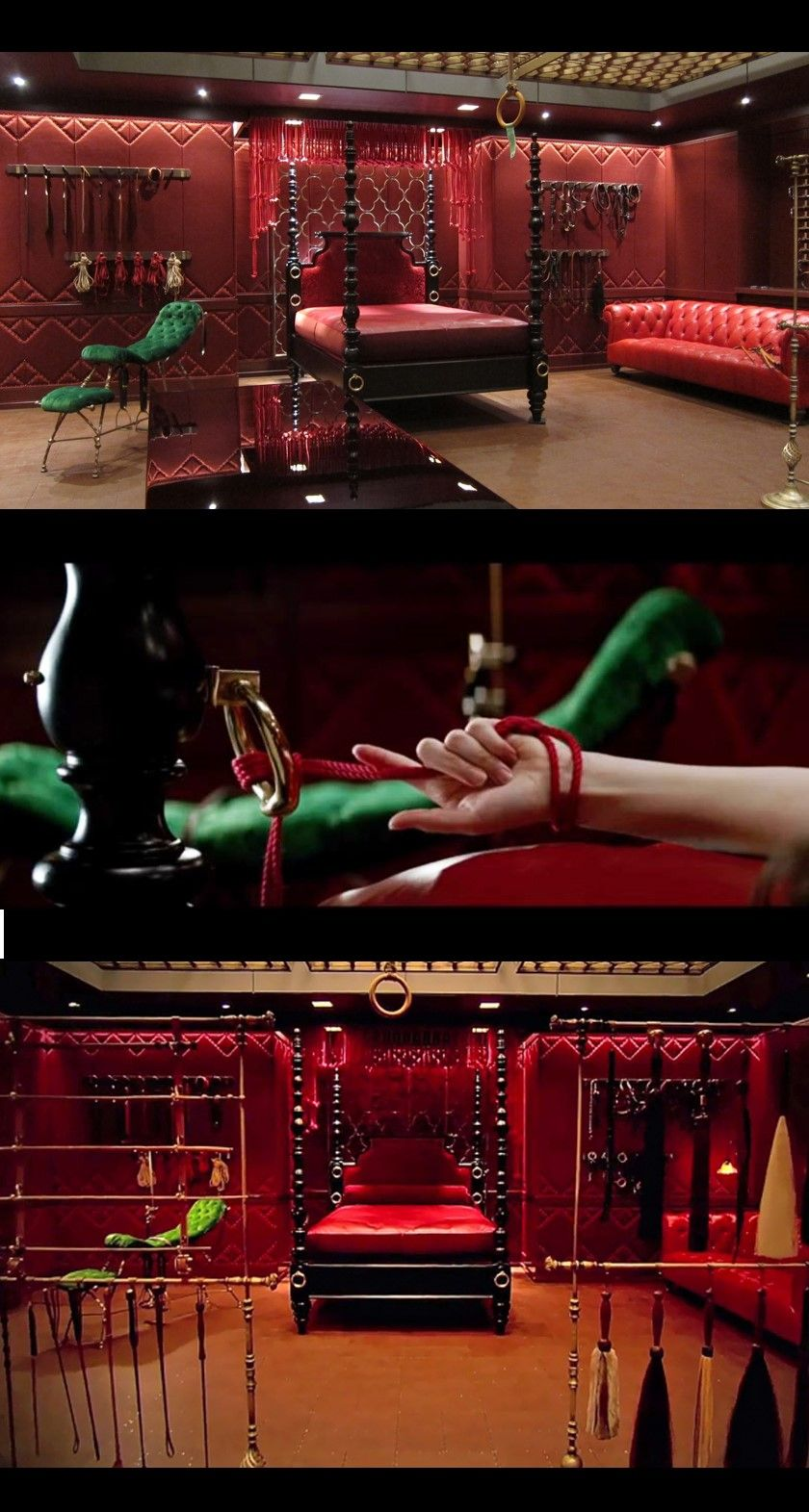 The Famous Red Room From Fifty Shades Of Grey Fifty Shades Of Grey Fifty Shades Shades Of Grey