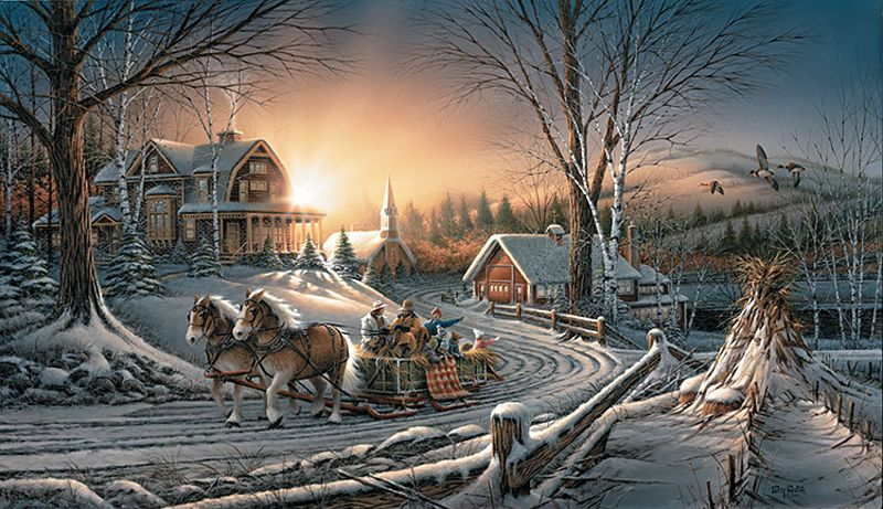Для открытки, открытки зима красивые