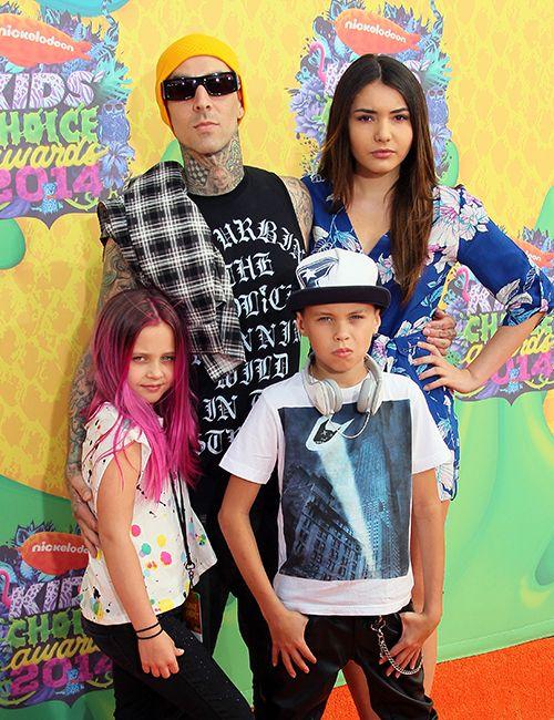 Rock Roll Dads Travis Barker Kids Choice Award Blink 182 Singer