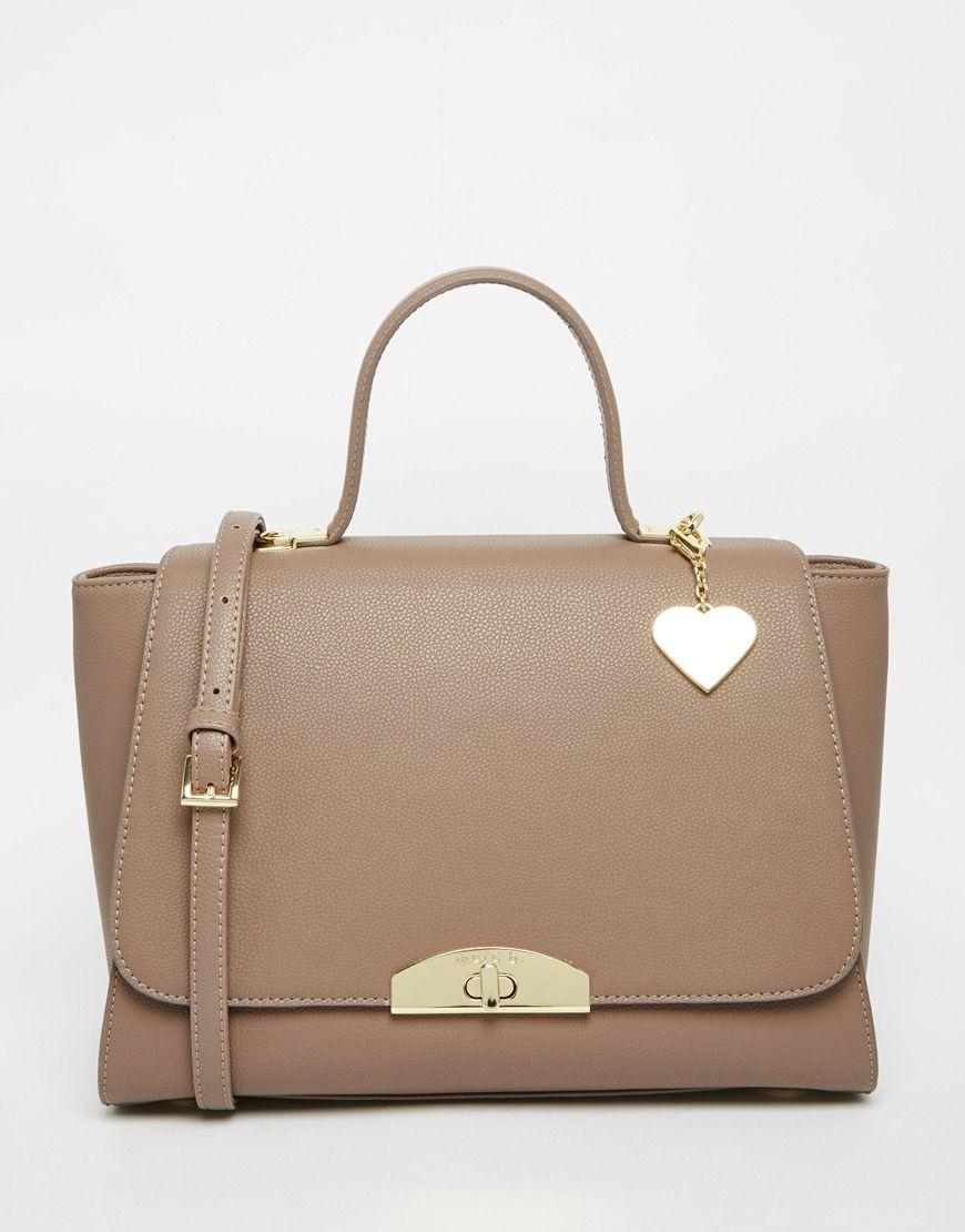 Marc+B+Grab+Bag+With+Top+Handle+in+Mushroom
