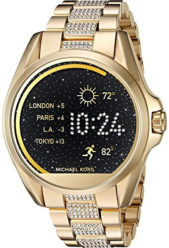 71610425df4ec Michael Kors Access Touch Screen Gold Bradshaw Smartwatch MKT5002 ...