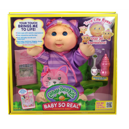 Toys Cabbage patch babies, Interactive baby dolls