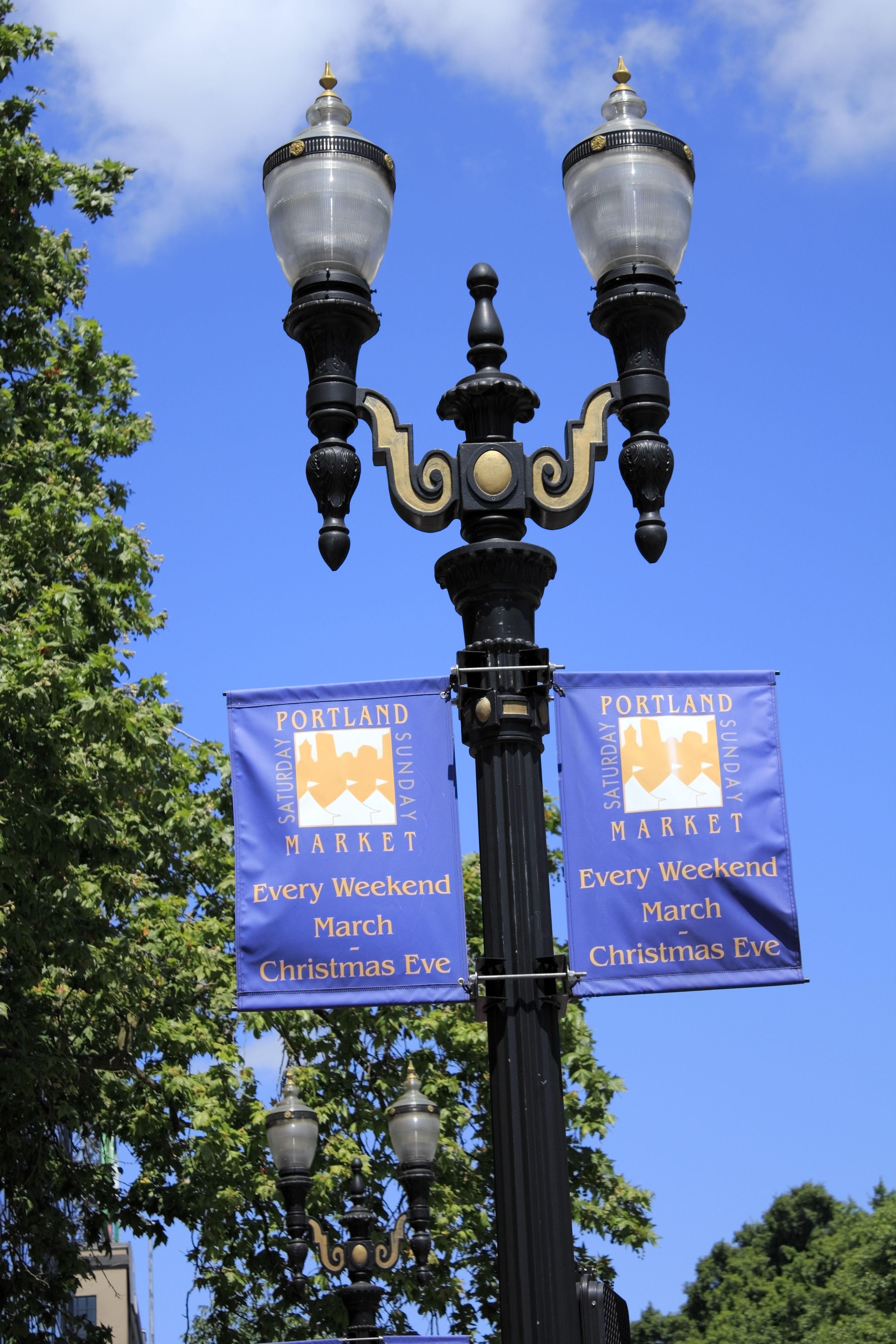 Decorative Light Poles visco, inc. decorative cast iron street light pole, twin arm