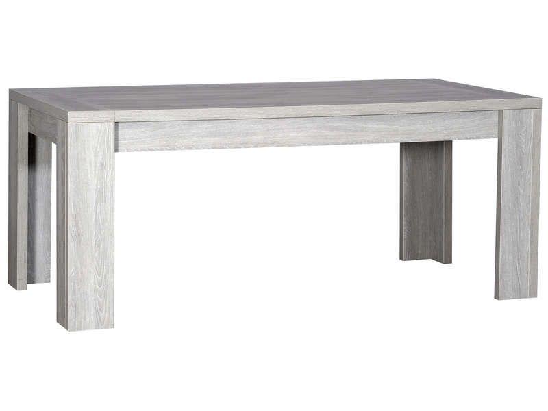 Table Moderne A Rallonge Grise Kath 180 260 Cm En 2020 Table A Manger Contemporaine Table De Salle A Manger Moderne Table Moderne