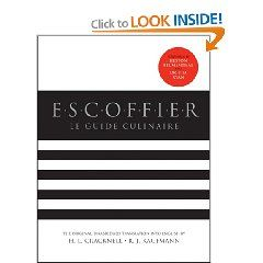 Escoffier Hardcover Cookbook Cooking Culinary Arts