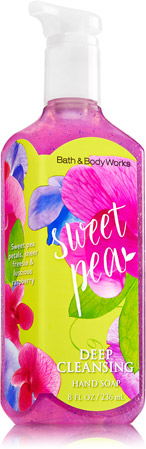 Sweet Pea Deep Cleansing Hand Soap Soap Sanitizer Bath Body