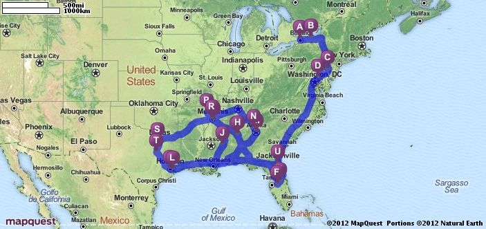 jacksonville florida mapquest directions
