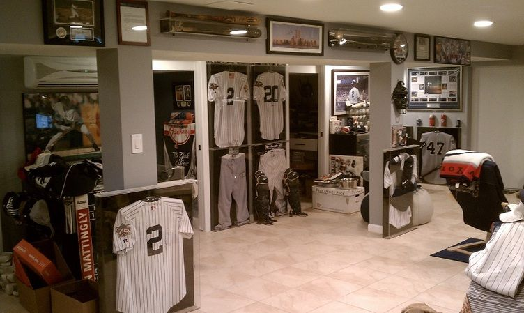 Man Cave Store Hamilton : Basketball man cave baseball new yankees