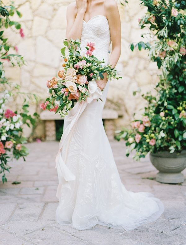 Romantic Tropical Garden Wedding Inspiration | Wedding