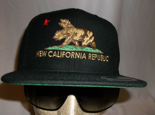 New California Republic Hat NCR Fallout Snapback New Vegas Cap Flexfit  Trucker 3  7acdb6646e5