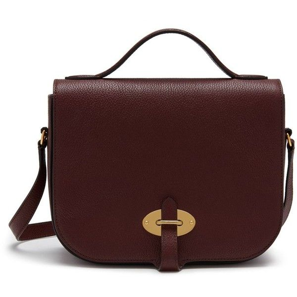 dbc1c543f2 Mulberry Tenby (47,335 DOP) ❤ liked on Polyvore featuring bags, handbags,  burgundy, satchel handbags, red cross body handbags, handbag satchel, ...