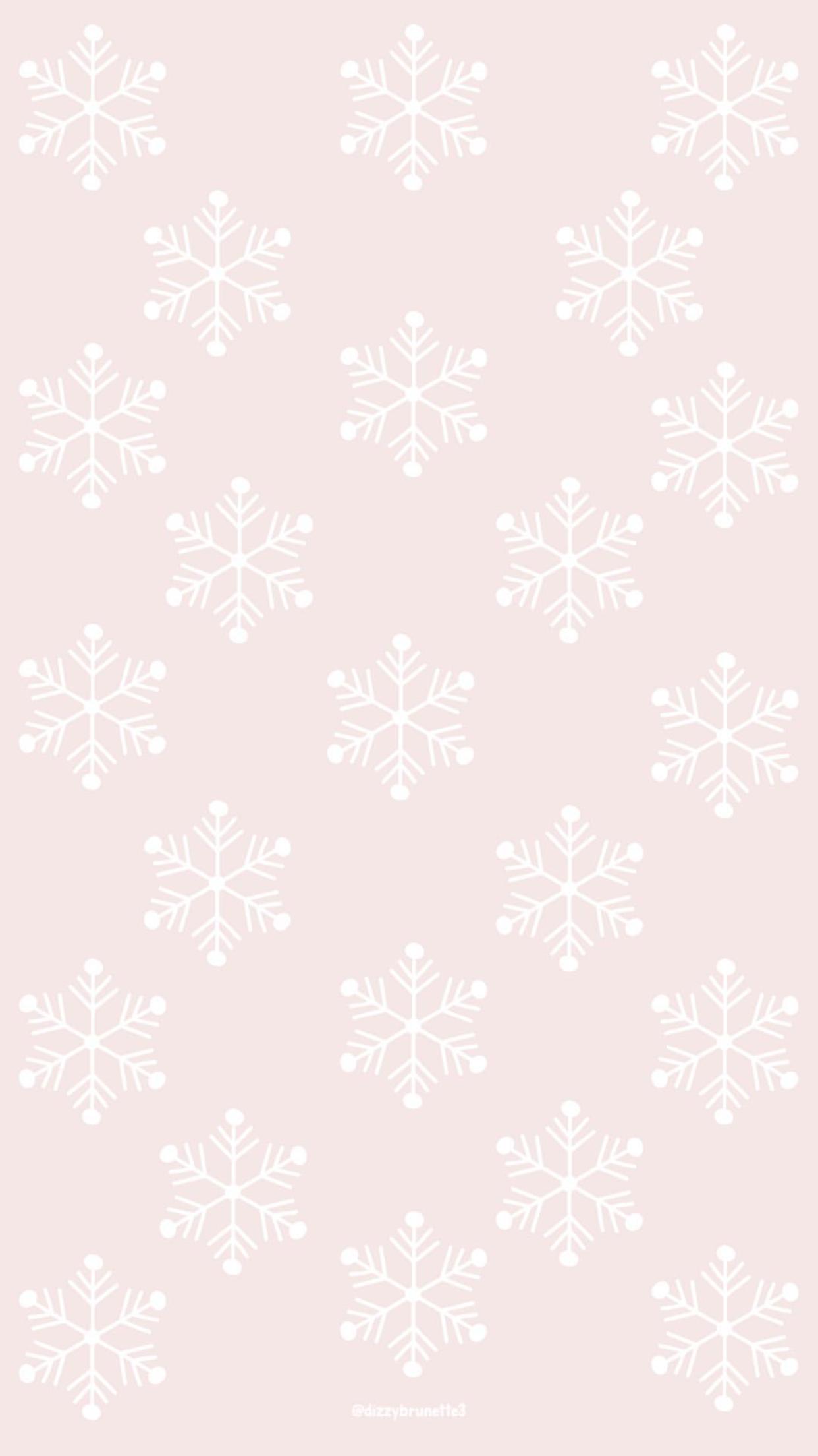 Pattern Snowflakes Winter Wallpaper Iphone Christmas Christmas Phone Wallpaper Cute Christmas Wallpaper