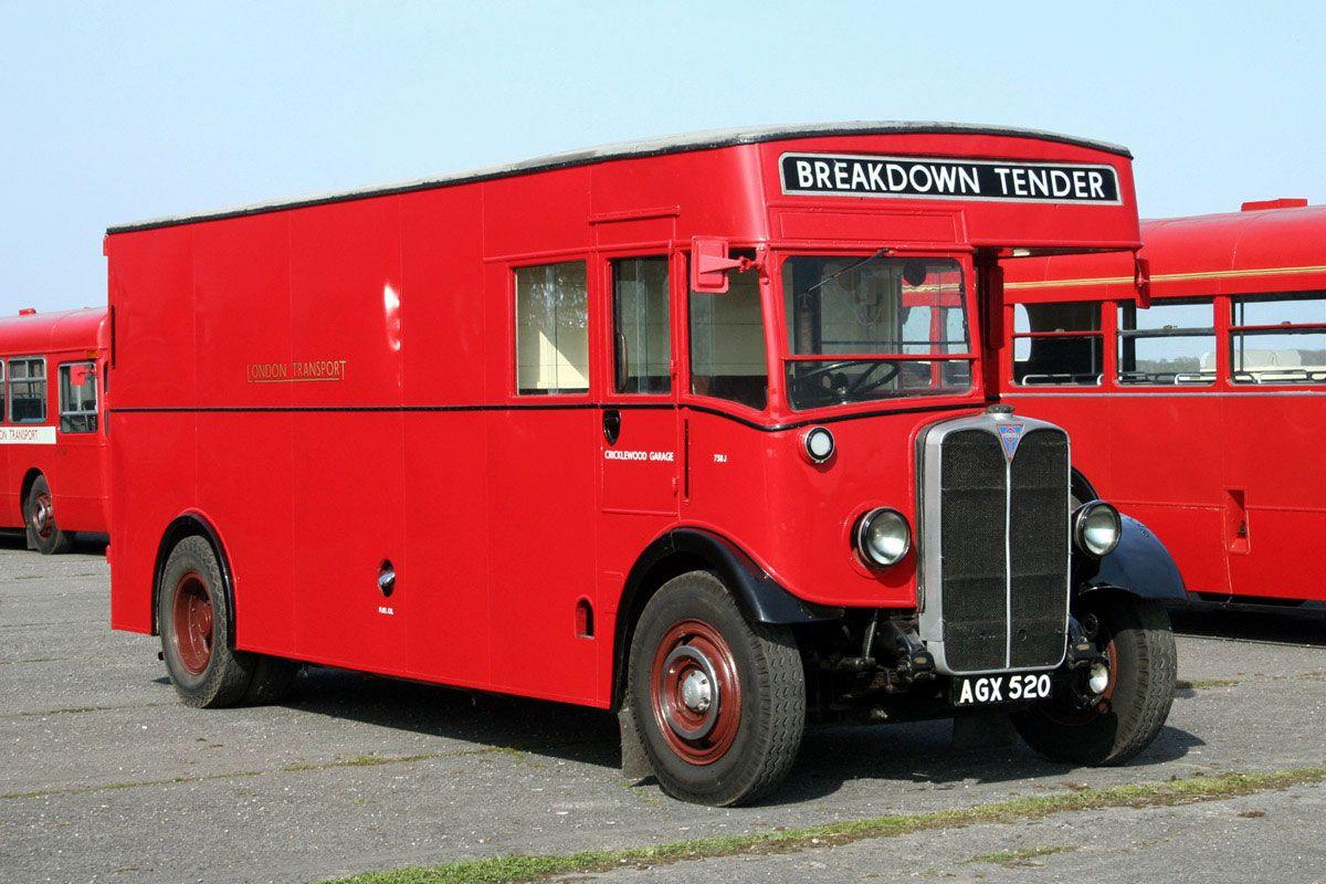 AEC - Regal / Regent Van (Special vehicles) - history, photos, PDF ...