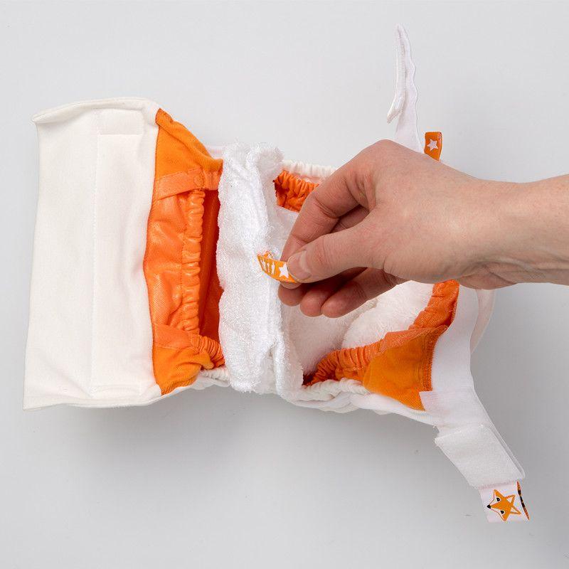 Foxy Baby® Stoffwindel aus Baumwoll-Jersey mit der neuesten ...