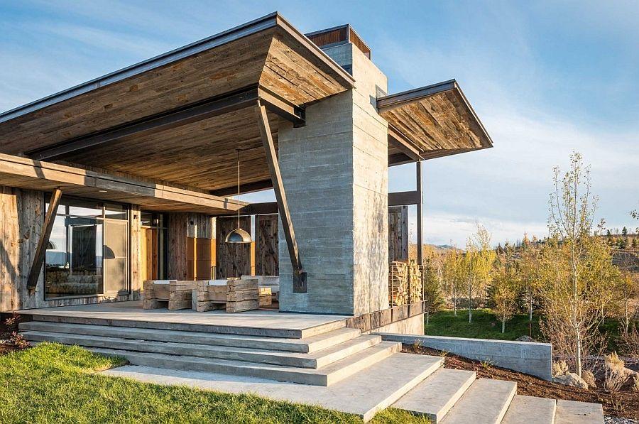 Enchanting Getaway Offers The Woodsy Cabin Type A Modern Twist