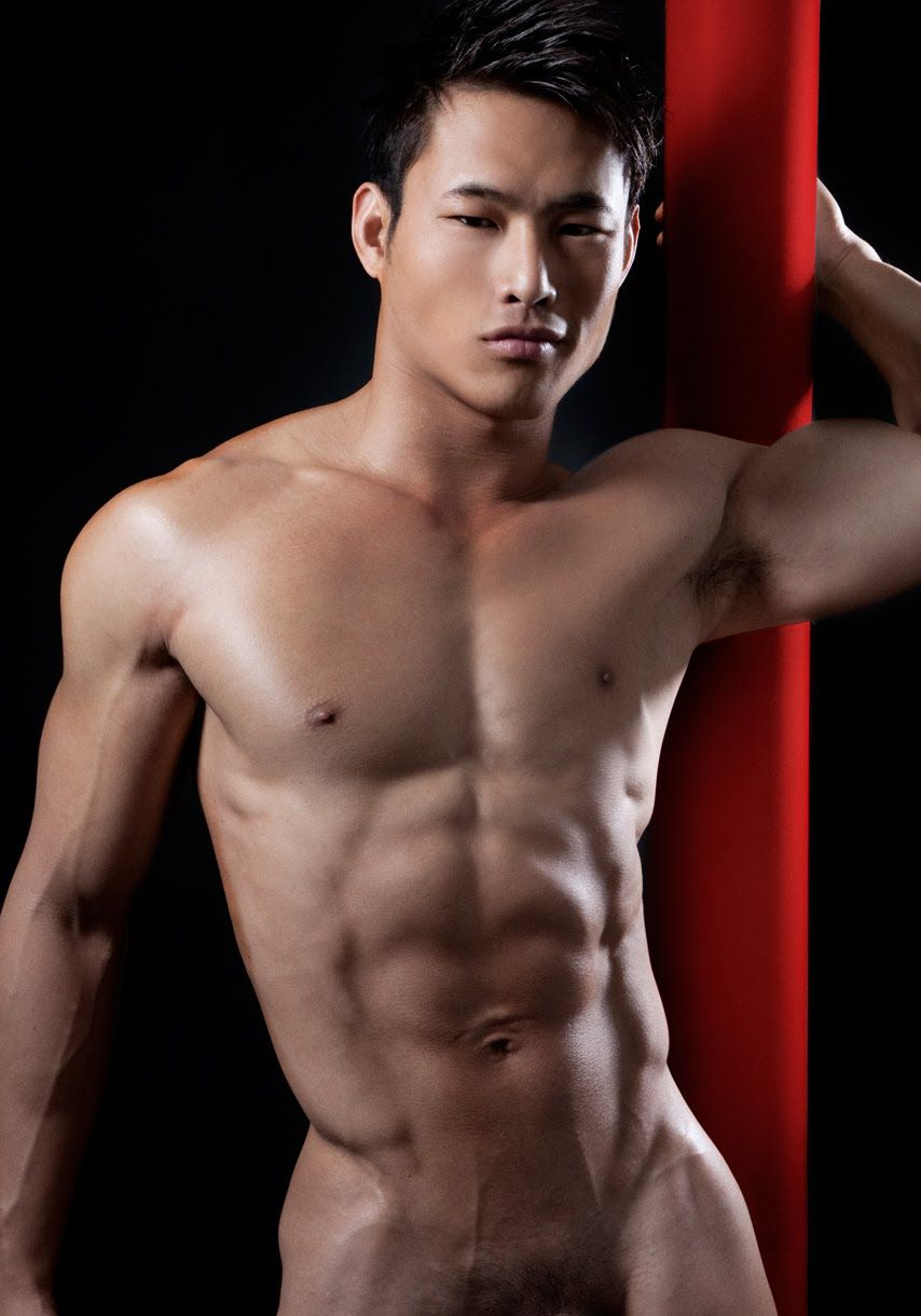Asian naked sexy male 3