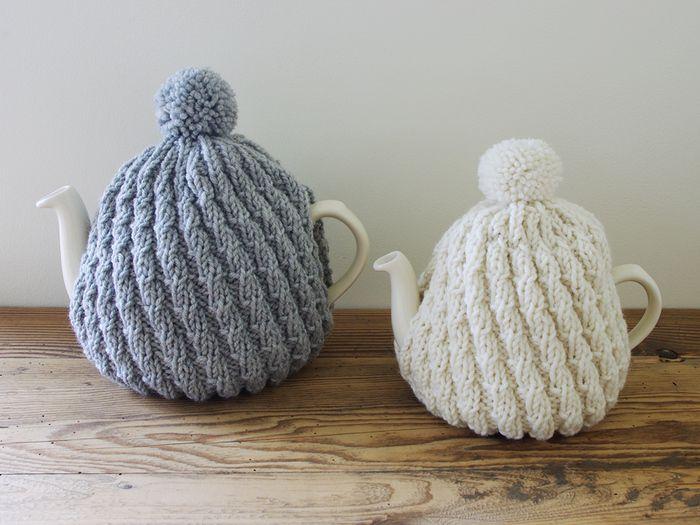 紅茶の時間を一層豊かに ティーポットの保温カバー ティーコージー を使ってみよう キナリノ ティーコージー 手編み ティーポットカバー