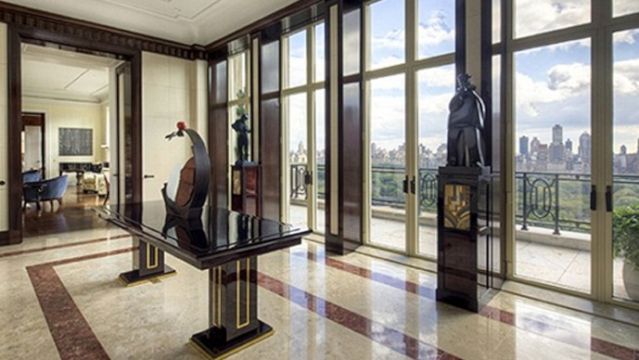 High Quality An 88 Million Dollar Penthouse Apartment Overlooking Central Park In New  York City