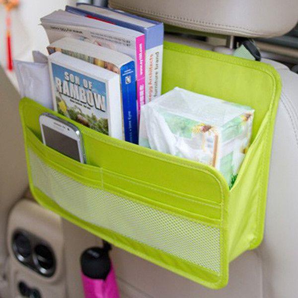 Waterproof Car Storage Box Hanging Organizer Moving Box Oxford Card