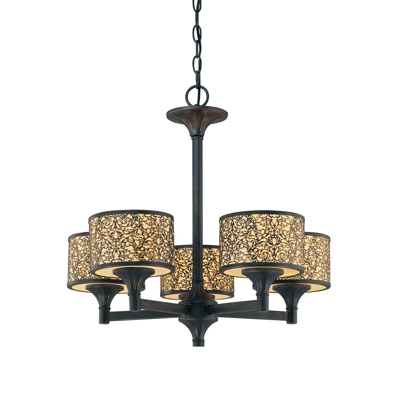 Eurofase Lighting 014 5 Light Melosa Chandelier