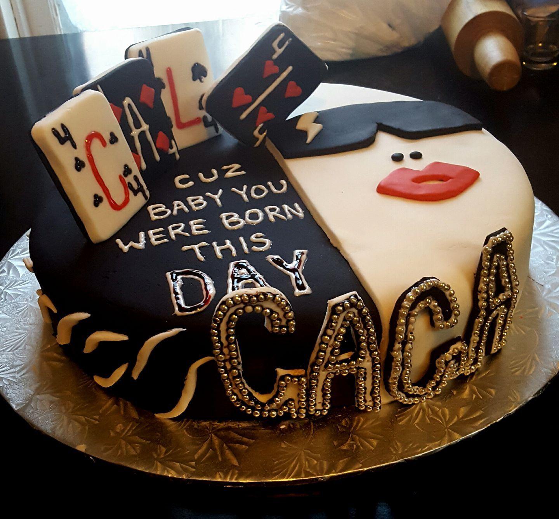 Lady Gaga Cake, Lady Gaga Birthday, Themed