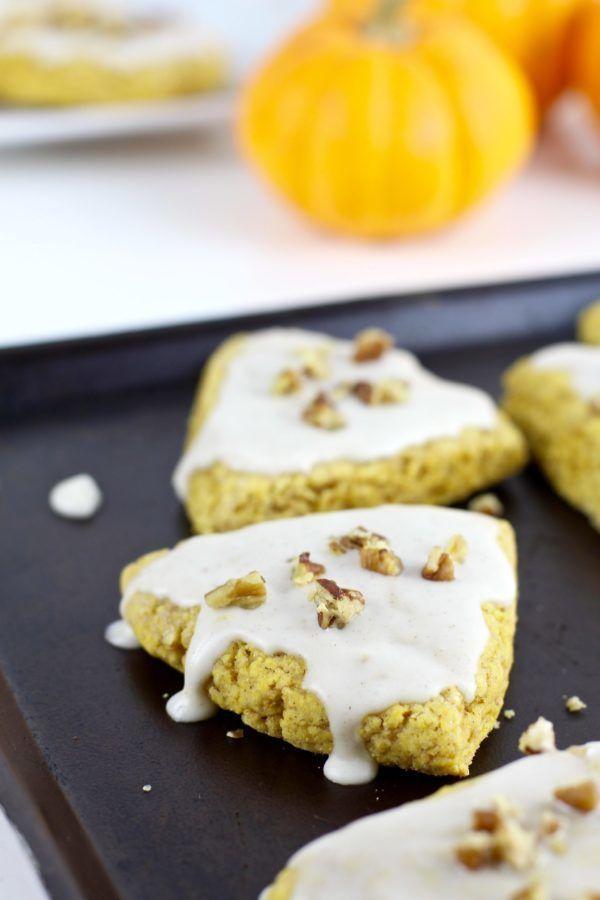 Gluten-Free Pumpkin Spice Scones