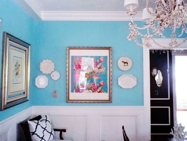 Blue · Our Tiffany Blue Dining Room ...