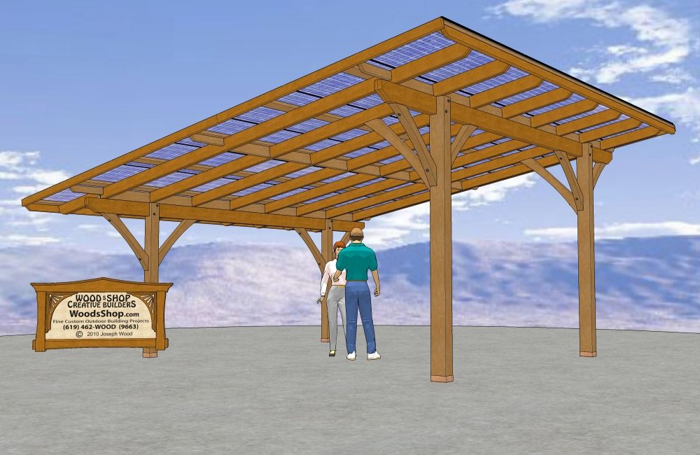 Deck Shade Structure Solar Shade Structure Design In San