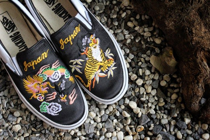 fdee3d5e8d93 The ROLLICKING x Vans Japan Slip-On Makes Its Way to Taiwan